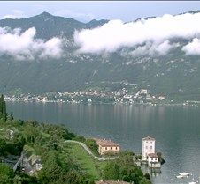 Lake Como at Bellagio (south)