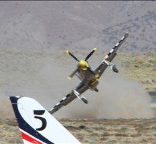 Thunder Mustang #75 Air Race Crash 453a