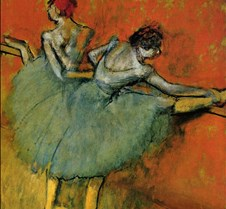 Dancers at the Bar-Edgar Degas-1888-Phil