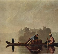 Fur Traders Descending the Missouri-Geor