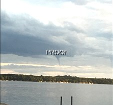 funnel or waterspout