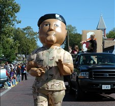 military marcher