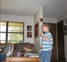 August 20, 2006 Austyn entertaining
