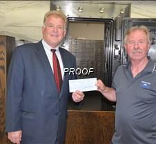 Eagle Bank donation to MLA