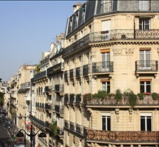 View From Minerve Hotel Paris France