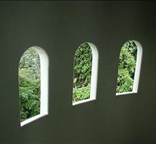 Three Windows to the Green