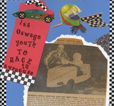 newspaper article soapbox derby