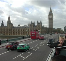 Parliament and Big Ben from our tour bus