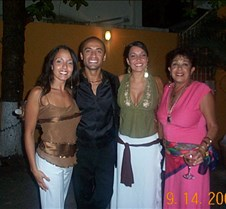Hot Actor with three beautiful women