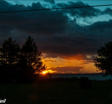 9-25-2016 Sunset Comeauville 9-25-2016 Sunset Comeauville