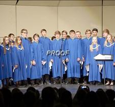 Senior choir ensemble