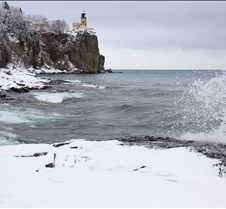 Split Rock Lighthouse Winter 11 dotphoto