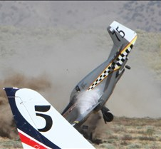 Thunder Mustang #75 Air Race Crash 456a