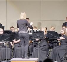 Concert band close up