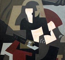 322Woman with Guitar-Maria Blanchard-191