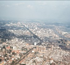 Aerial View of Saigon, South Vietnam