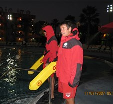 Life Guards in Jackets