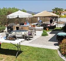 Mark Kelly's Backyard Steamup Work Area