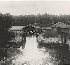 Early Dam Frazee Mill