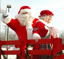 Santa wave