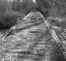 Old Carriage Bridge B&W