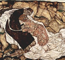 343Death and the Maiden-Egon Schiele-191