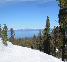 Clear Day in Lake Tahoe