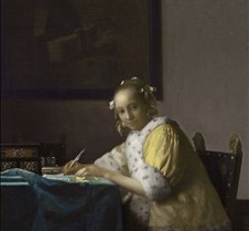 007A Lady Writing-Johannes Vermeer-1665-