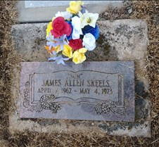 May 28, 2018 Shots of family gravesites
