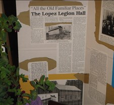 Lopez Legion Hall 2009 Opening