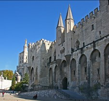 Pope's Palace, Avignon France