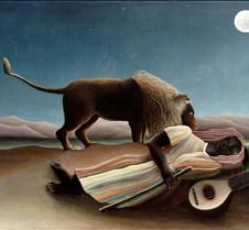 The Sleeping Gypsy-Henri Rouseau-1897-Mu