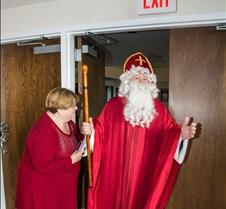 Saint Nicholas Arrives at Saint Kateri's