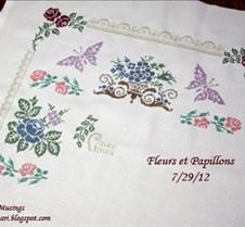 WIP - Fleurs et Papillons