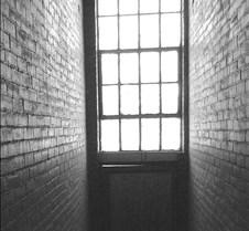 Hall Window B&W