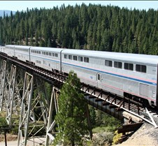 California Zephyr Amtrak #5 Westbound
