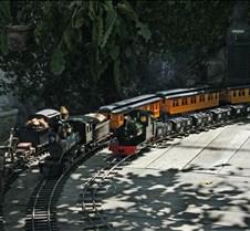 Trains Under Steam Passing