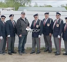 Hospice ride donation American Legion