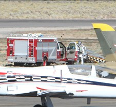 Thunder Mustang #75 Air Race Crash 470a