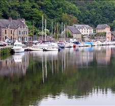 The Old Port on the River Rance in Dinan