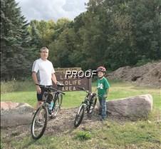 Bike trail open house