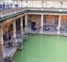 Roman Bath from street level more