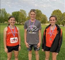 cc trio of runners