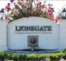 Lions Gate Hotel Entrance