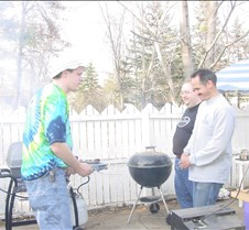 Grillout with Sean, Steve and Brent