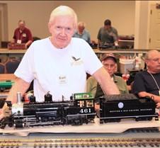 Earl Martin & His 2-8-0 K-27 Loco