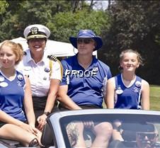 Commodore Sara Stadtherr and family