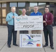 Eagle Bank MAS donation