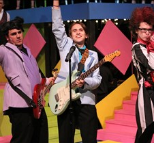 The Wedding Singer Bishop Hendricken Summer Stage performed The Wedding Singer on July 23-31, 2010. Director: Davis Alianiello; Choreographer: Teresa Pearson; Musical Director: Richard Sylvia.  All profits from the sale of these photographs to benefit the Theater Arts Progra