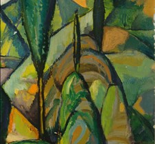 Abstract Landscape-Charles H Walther-und